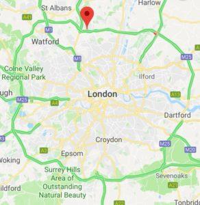 M25 area, London